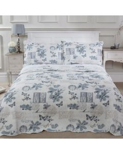 Wordsworth Bedspread Set - Silver