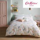 Cath Kidston Pembrooke Rose Duvet Cover Set - White
