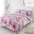 Catherine Lansfield Daisy Dreams Duvet Cover Set - Pink