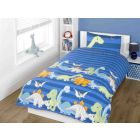 Dino bedding sets - blue
