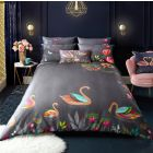 Sara Miller Swan Grey Duvet Cover Set
