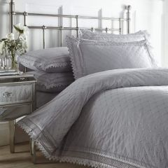 Balmoral Silver Bedding Set